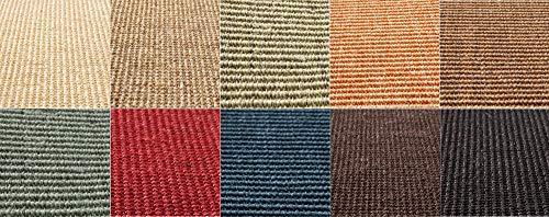 Floordirekt Sisal-Kratzteppich | ideal als Kratzmatte für Katzen | Ohne Kettelung | widerstandsfähig | Katzen-Kratzteppich in vielen Farben und Größen (Natur, 100 cm x 50 cm)
