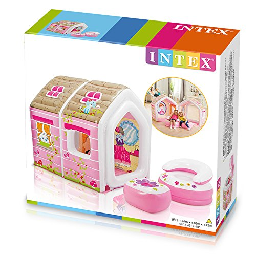 Prinzessinnen-Spielhaus (Intex) - 7