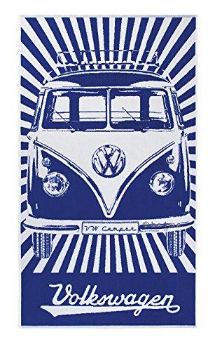 VW Linge de Bain, Bus Bulli T1 Classic, bleu - blanc