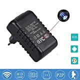 Aucune batterie requise HD 1080P WIFI Spy Hidden Camera Adaptateur Wall AC Plug Chargeur P2P pinhole magnétoscope Indoor Nanny Cam Motion Detector Support IOS Android Smartphone SW03