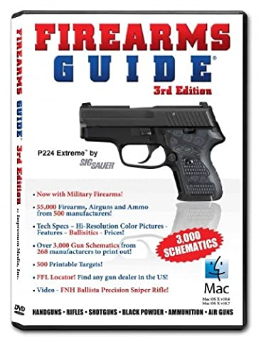 Firearms Guide: Handguns, Rifles, Shotguns, Black Powder, Ammunition, Air Guns