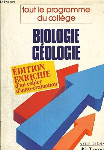 Biologie-géologie : Tout le programme du collège