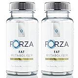 FORZA Fat Metaboliser - Slimming & Diet Pills for Weight Loss - Best Fat Burner Pills For Men & Women - 180 Capsules