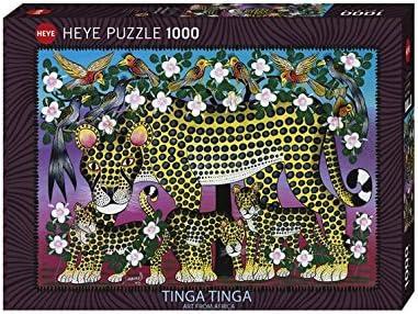 University Games Heye - Heye-29427 - Puzzle Classique - Wildcat Family - 1000 Pièces | L'apparence élégante