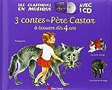 3 contes du Père castor à écouter dès 4 ans (1CD audio)