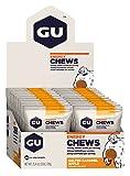 GU Energy Chews, Salted-Caramel-Apple (salziges Karamel mit Apfel), Box mit 24 x 30 g