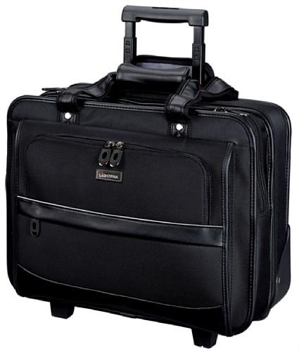 Lightpak 92707 - Business Laptop Trolley Lido, aus Nylon, schwarz