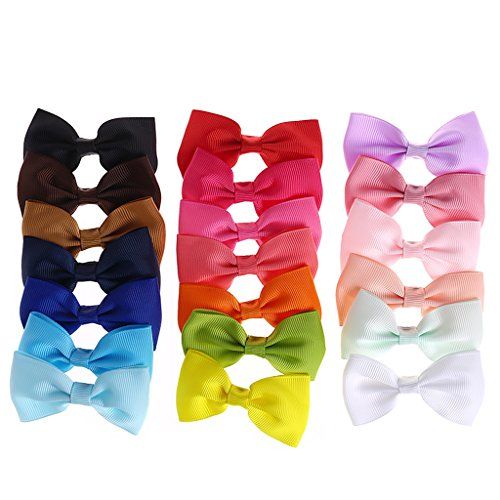 Kinder Haarschleife Boutique Alligator Clip Grosgrain Ribbon Bowknot ()