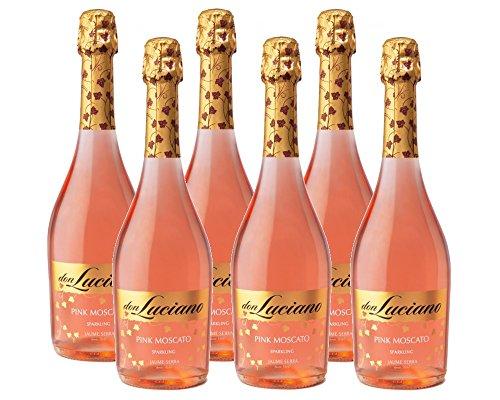Don Luciano Pink Moscato Vino Espumoso - 6 Botellas x 750 ml - Total: 4500 ml