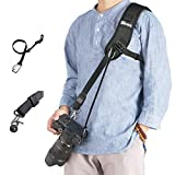WITHLIN allongé Professionnel Photographie Set - Sangle avec Attache de sécurité de Prolonger pour Appareil Photo SLR DSLR (Canon Nikon Sony Pentax Olympus, etc.) ...