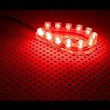 Lamptron FlexLight Standard - 12 LED - rouge feu