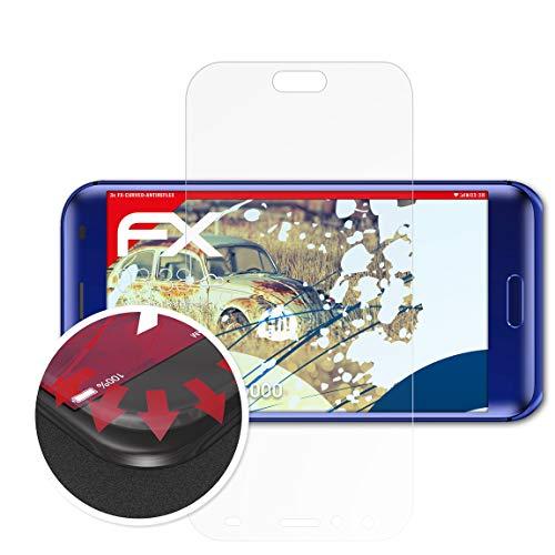 atFolix Schutzfolie passend für DOOGEE BL5000 Folie, entspiegelnde und Flexible FX Displayschutzfolie (3X)