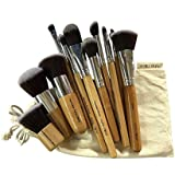 Puna Store 11 Piece Makeup Brush Set Model PS-551(Bamboo)