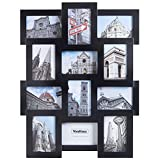 Best Collage Photo Frames - VonHaus Black Wooden 12 Multi Aperture Photo Frame Review