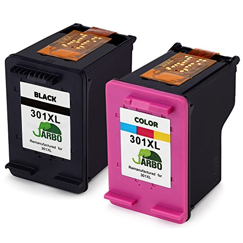 jarbo-remanufactured-hp-301-xl-ink-cartridges-1-black1-tri-colour-compatible-with-hp-deskjet-1000-10