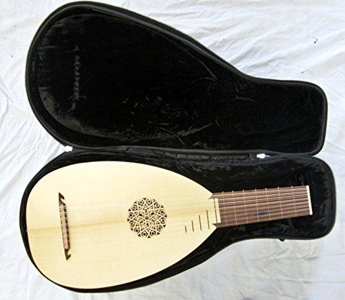 Mittelalterliche Laute Lute Mandoline incl Softcase+ Lehrbuch