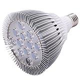 Costway E27 12W/24W LED Pflanzenlampe Pflanzenleuchte Pflanzenlicht Wachstumslampe für Zimmerpflanzen, Blumen und Gemüse (24W)
