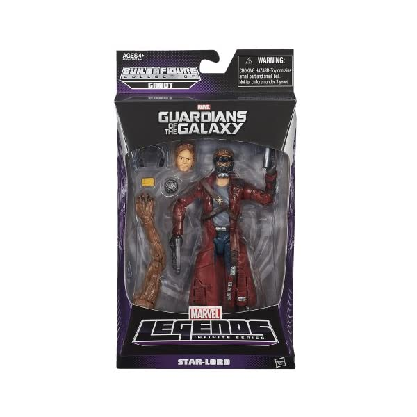 Marvel Guardianes de la Galaxia - Figura Star-Lord 2