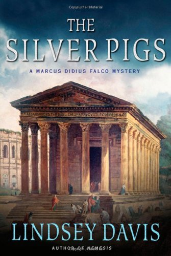 Book cover for The Silver Pigs