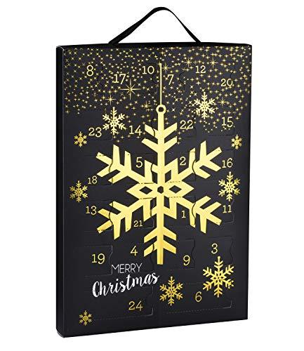 SIX Damenschmuck Adventskalender Schneeflocke