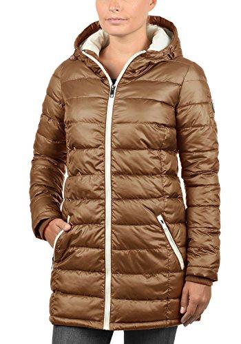 DESIRES Dori Damen Winterjacke Steppmantel mit Kapuze aus hochwertigem Material Cinnamon (5056)