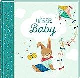 Eintragalbum - Unser Baby (Kleines Wunder, hellblau)
