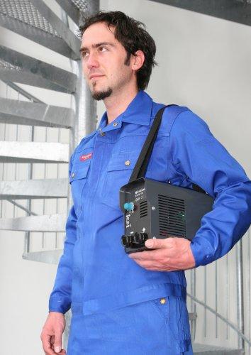 Einhell Inverter Schweißgerät BT-IW 100 (85 V, inkl. Masseklemme, Elektrodenhalter, Ventilatorkühlung, Trageriemen, leicht und kompakt) - 3