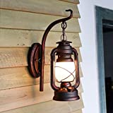 Schmiedeeisen Wand Lampe Balkon Flur Flur Treppe Tür Lampe Petroleumlampe Laterne