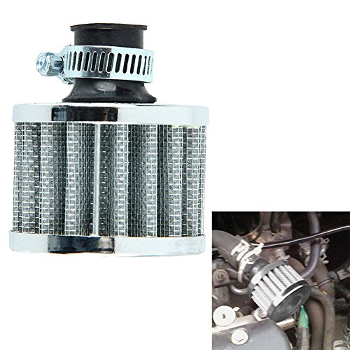 zantec 12 mm Air Filter Motorrad Turbo Vent Kurbelgehäuse Breather -