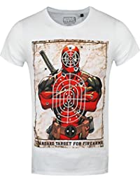 Deadpool Target Camiseta Blanco XXL