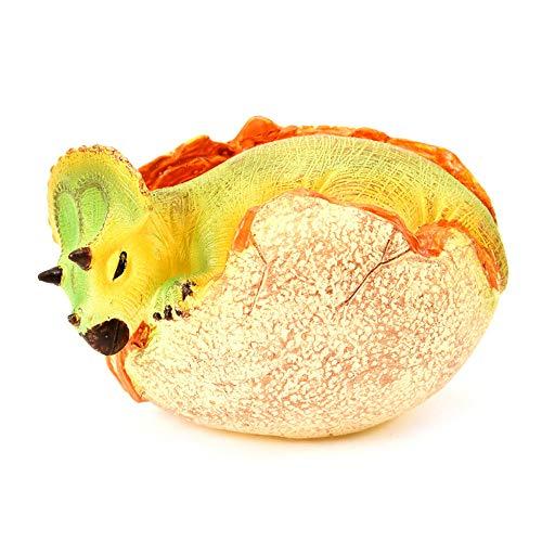 1pc LED leuchten simuliert Dinosaurier Ei Spielzeug Modell Ornamente Geschenke Sammlung YunYoud kinderspielzeug billige spielzeuge kinderspielsachen günstig