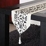 Tissu De Table Pastoral Simple Moderne Feuilles De Drapeau Tissu De Table En Acajou Chinois Table Basse Américaine Tapis De Drap De Drapeau TV,A1