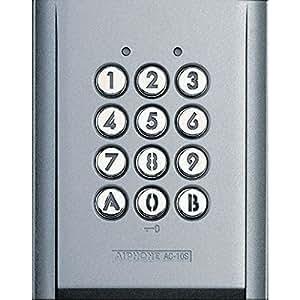 AIPHONE - Digicodeur Clavier codé en saillie 100 codes rétroéclairé pour Kit Vidéo Aiphone - AC10S
