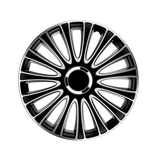 Petex Lemans PRO RB54351 Copricerchi ABS Plastic Black - 4 Pezz