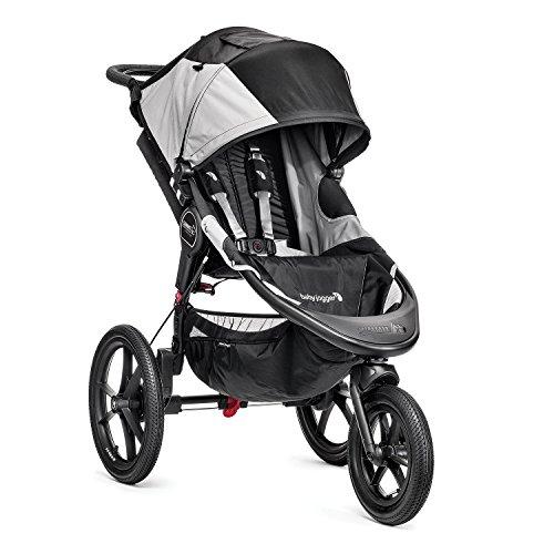 Baby Jogger Summit X3 - Cochecito para bebé, 3 ruedas, color negro / gris