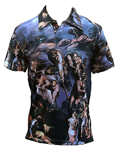 in-nomine-patre-herren-polo-t-shirt-blau-michelangelo-detial-from-the-fresco-of-the-last-judgement-l