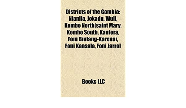 Buy Districts of the Gambia Book Online at Low Prices in India ... 5181d698075