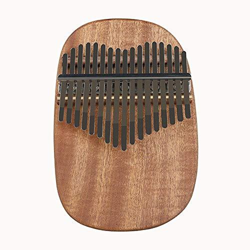 irugh 17-Ton Daumen Kalimba 17-Ton Finger Klavier Kalimba 17-Real-Tonplatte Daumen