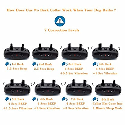 WIZCO-Barking Control Collar. Stops Dogs Barking Humanely 2
