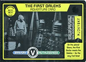 Doctor Who Monster Invasion Extreme Rare Foil Card #332 The First Daleks