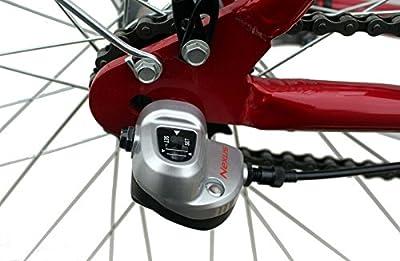 Citybike 26' Zoll Aluminium 3-Gang Nabenschaltung STVZO Nabendynamo Rücktritt RH 46 cm