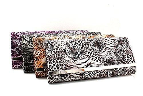 Tigers Signore Del Modello Nuova Frizione Cosmetici Borse Purple