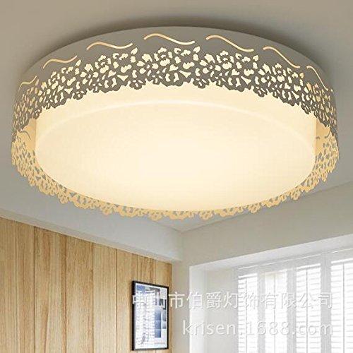 Mission Deckenleuchte (LED Deckenleuchten, Schmiedeeisen, Acryl, ein Schlafzimmer, ein Wohnzimmer, eine moderne, minimalistische Restaurant Lichter, Küche, Diele, Balkon Decke lightsWARMWHITE)