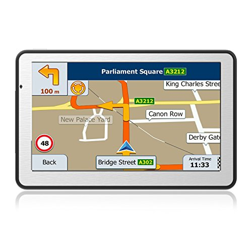 "Nicksea 7"" Zoll GPS Navigationsgerät Navi 256MB 8GB Navigation Europe Traffic für PKW KFZ Auto"