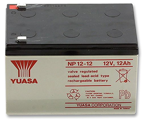 Yuasa Batterie, 12 V, 12 Ah Cable Guy Direct -