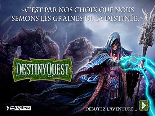 Couverture du livre DestinyQuest : L'aventure commence maintenant ! (Fantasy)