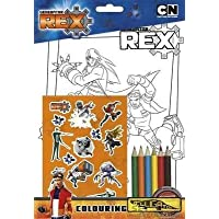 Generator Rex Colouring Set