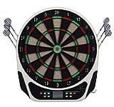 Homcom - Diana electrónica 6 dardos juego digital con sonido 18 juegos 159 variantes