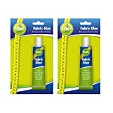 2pk Fabric Glue by Craft Central | Extra Strong & Large 50ml Fabric