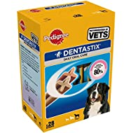 Pedigree Dentastix Large Dog Dental Chews, 28 Stick, 1080 g